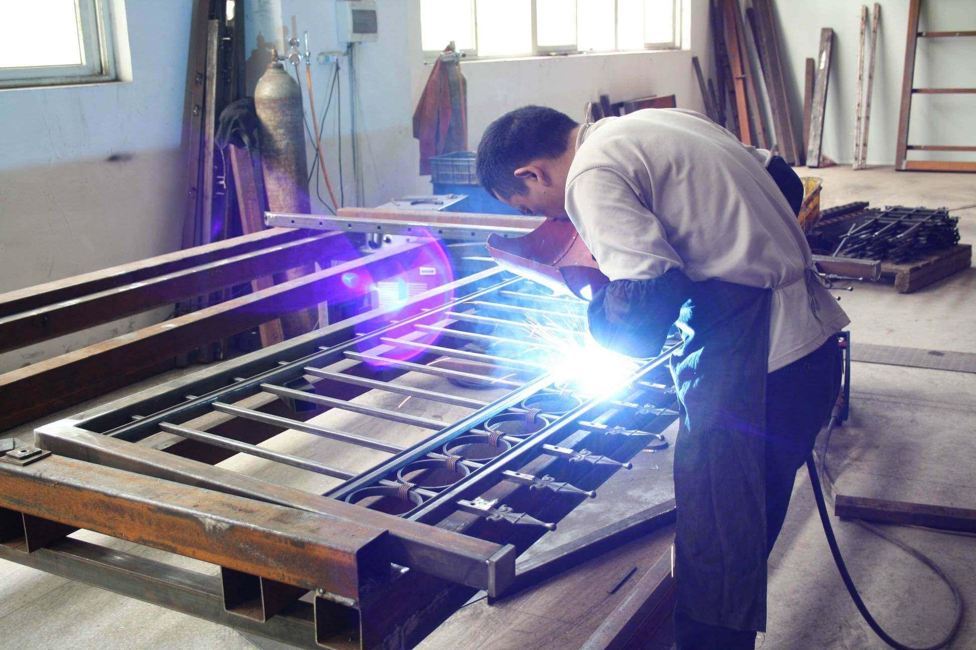 Factory tour amoy ironart fence wrought iron fences
