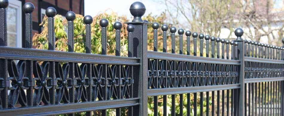 Wrought Iron Fences, Ornamental