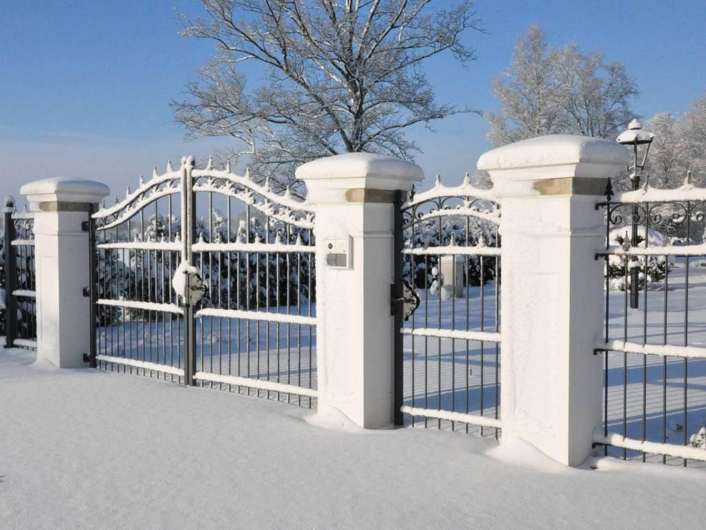 Ornamental gate amoy ironart fence wrought iron